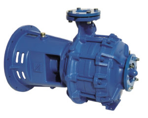 Flanged centrifugal pump