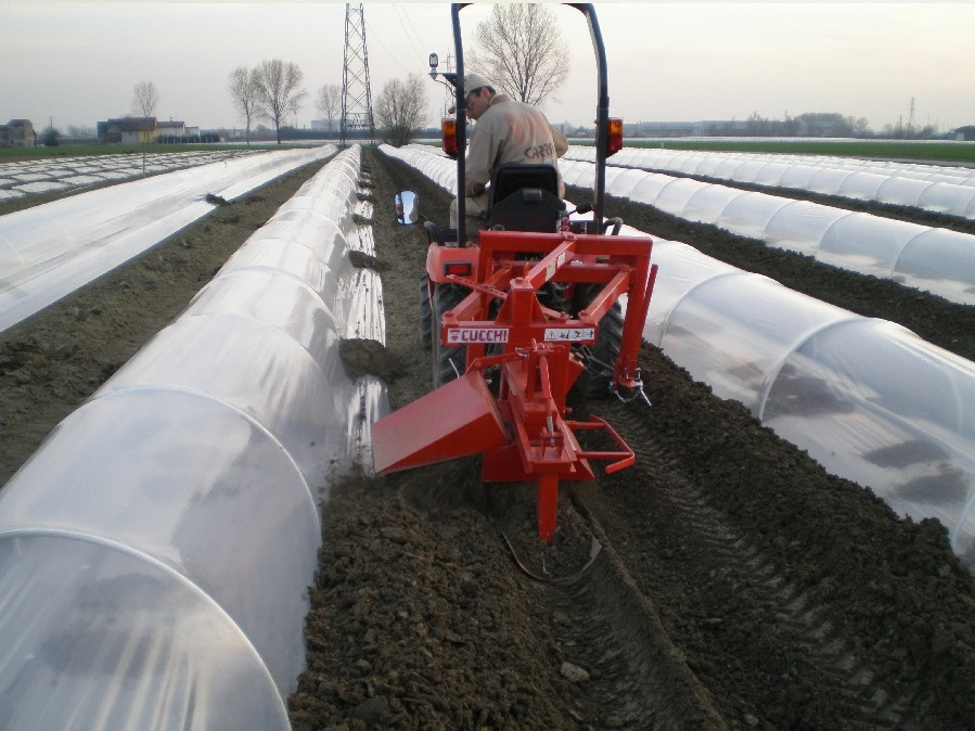 RIDGER FOR POLYTUNNELS AND GREENHOUSES